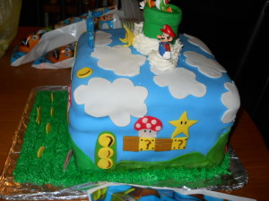 Mario Birthday Cake for my grandson.