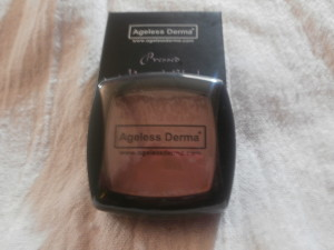Ageless Derma Mineral Blush with Green Tea and Vitamins. No Paraben, 100% Natural