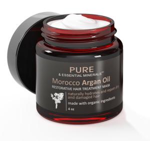 Organic Morocco Argan Oil Hair Treatment Mask #purearganoil