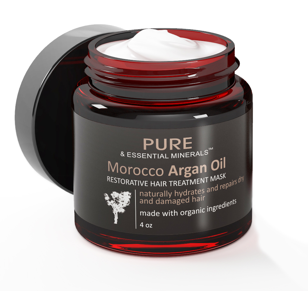 Organic Morocco Argan Oil Hair Treatment Mask Purearganoil Bama
