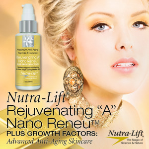 "Nutra-Lift® Rejuvenating ""A"" Nano Reneu™ PLUS GROWTH FACTORS"