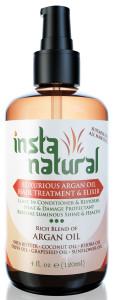 Insta Natural Argan Oil Hair Treatment #arganoilhairtreatment