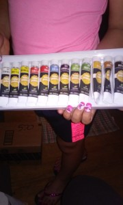 Acrylic Paint Set #colorgallery